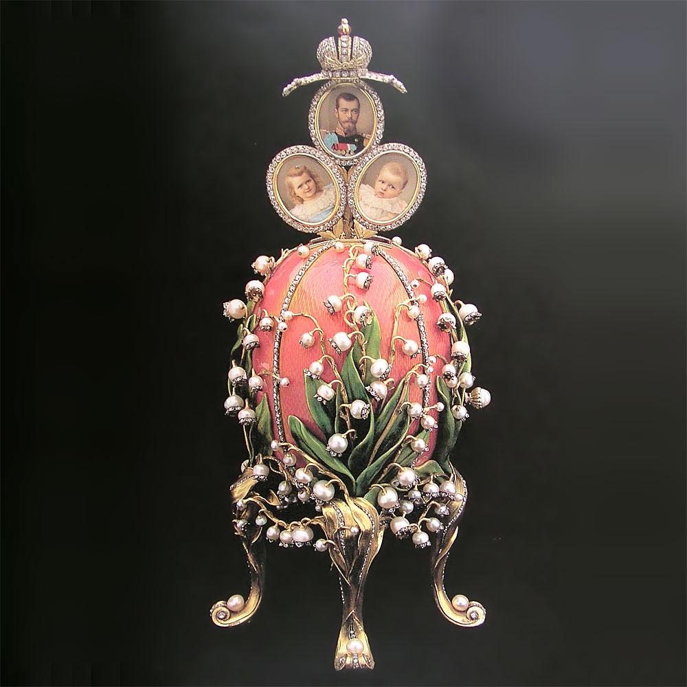ファベルジェの卵 スズラン 1898 ( Fabergé Imperial Eggs Lilies of the Valley 1898 )