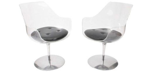 """エルウィン & エステル・ラヴァーン チェア 「シャンパーニュ」 ( Erwine and Estelle Laverne """"Champagne"""" Chairs )"""