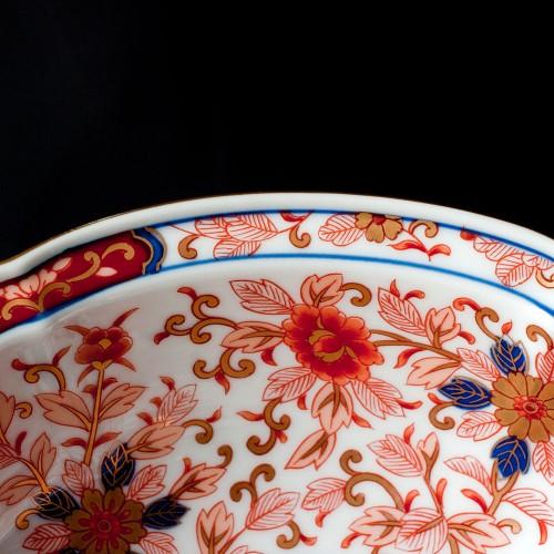 有田焼 林九郎窯 古伊万里様式 金彩花詰盛鉢