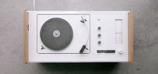 ブラウン ラジオ+レコードプレーヤー SK55 ( Braun SK55 )