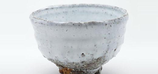 萩焼 琵琶釉 抹茶碗