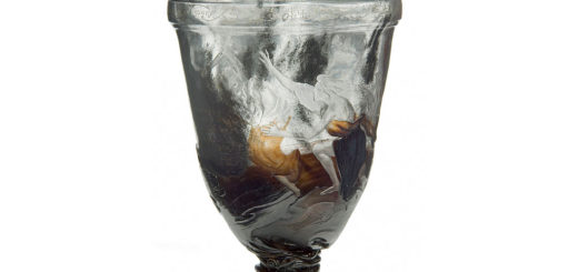 エミール・ガレ 花瓶 オルフェウスとエウリディケ ( Émile Gallé Vase Orphée )
