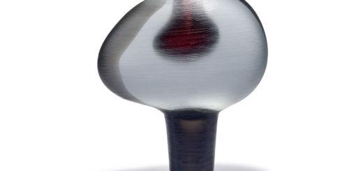ヴェネチアガラス アルフレッド・バルビーニ 花瓶 'Vetro pesante' ( Venetian Glass Alfredo Barbini 'Vetro pesante' Vase )