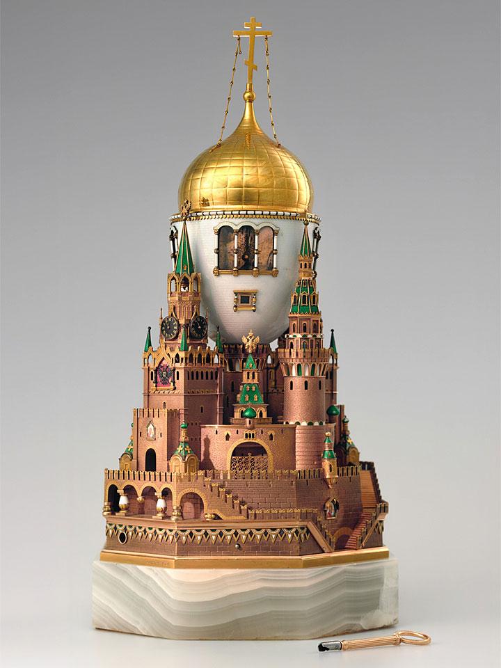 ファベルジェの卵 モスクワ・クレムリン宮殿 1906 ( Fabergé Imperial Eggs Moscow Kremlin 1906 )