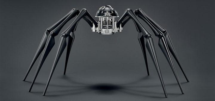 クモ型壁掛け時計 「 Arachnophobia 」