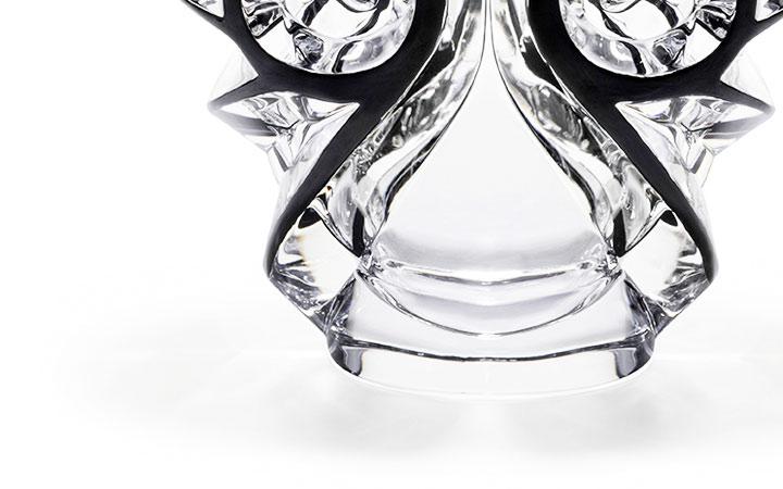 ラリック 花瓶 トゥールビヨン オーバル ( Lalique Tourbillons Oval Vase )