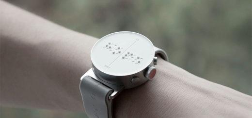 スマートウォッチ 「Dot Watch」