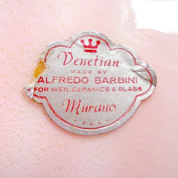 ヴェネチアガラス アルフレッド・バルビーニ ボウル ソッメルソ オレンジ ( Venetian Glass Alfredo Barbini Sommerso and Solid Orange Hues Bowls )