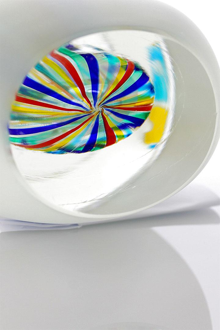 """ヴェネチアガラス ロマーノ・ドナ 花瓶 Incredibly Beautiful Unique Artwork ( Venetian Glass Romano Dona Vase """"Incredibly Beautiful Unique Artwork"""" )"""