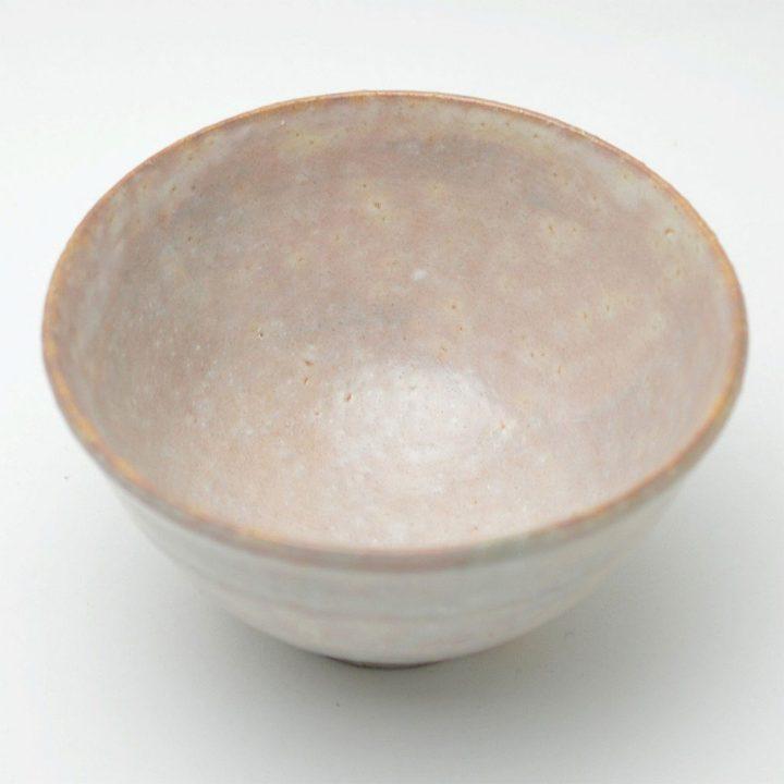 萩焼 坂倉善右衛門窯 藁白釉 抹茶碗