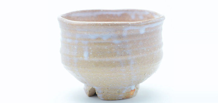 萩焼 抹茶碗 一点物 枇杷釉 田中講平