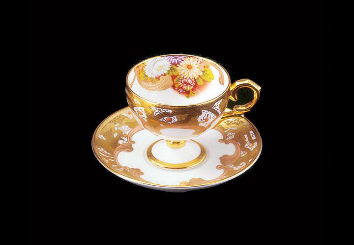 ノリタケ 和花コレクション ティー・コーヒー碗皿アソートセット