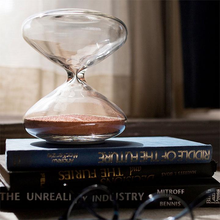 マーク・ニューソン 砂時計 ( Marc Newson Hourglass )