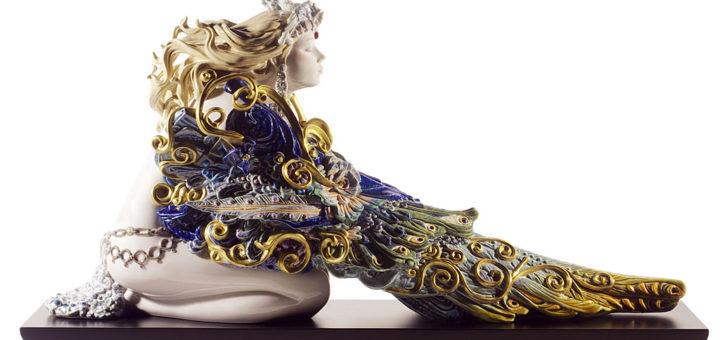 リヤドロ 美しき翼 ( Lladro Winged Beauty )