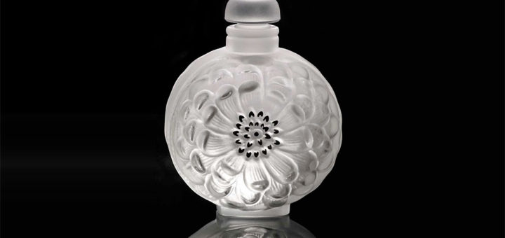 ラリック 香水瓶 ダリア No.3 ( Lalique Dahlia Perfume Bottle No3 )