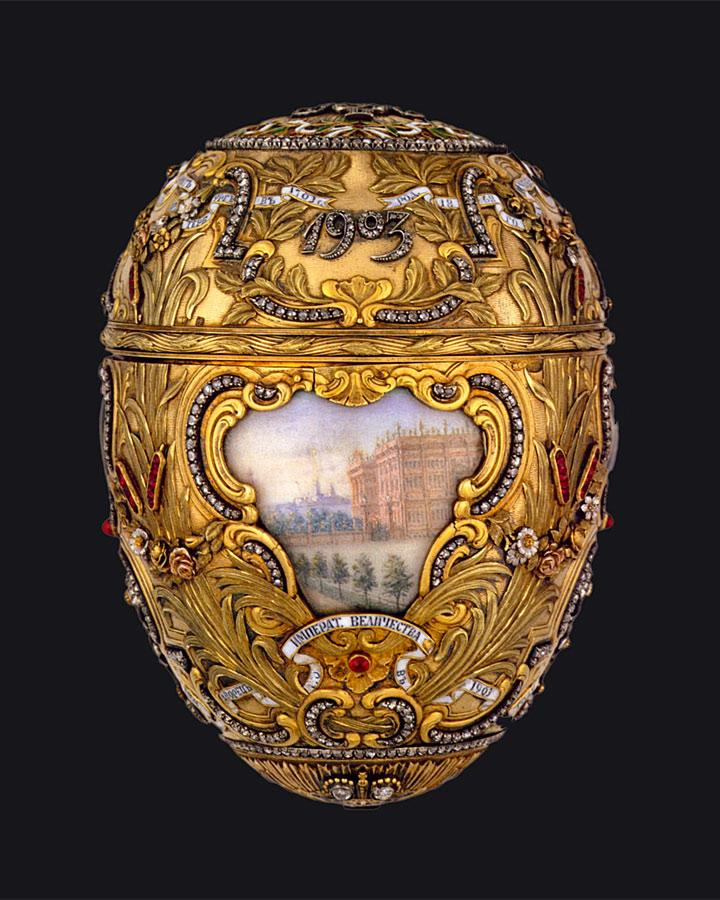 ファベルジェの卵 ピョートル大帝 1903 ( Fabergé Imperial Eggs Peter The Great 1903 )