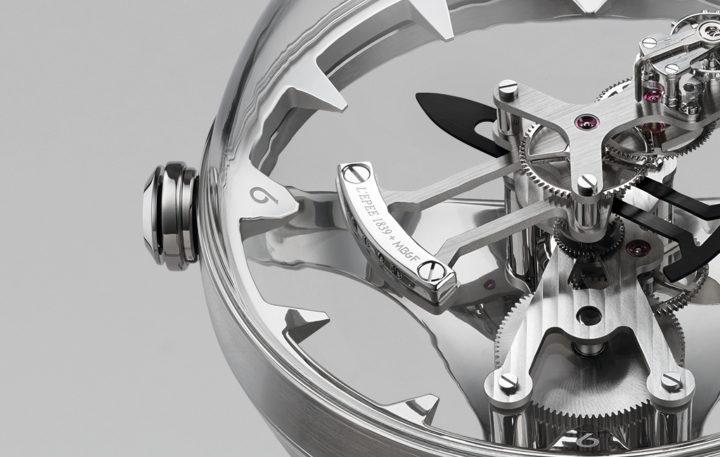 MB&F + L'Epée 1839 置時計 OCTOPOD