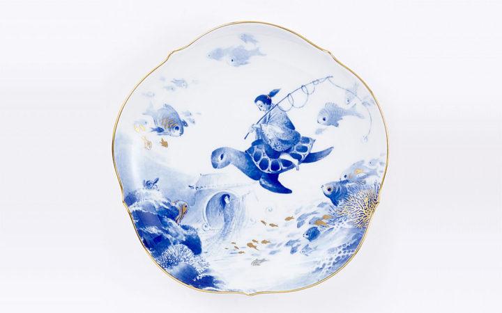 マイセン 2018年 メモリアルプレート「浦島太郎」 ( Meissen Plate of the Year 2018 'Urashimataro' )