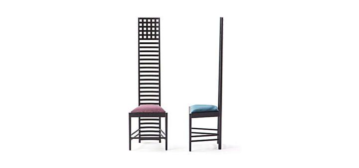 チャールズ・レニー・マッキントッシュ - ヒルハウスチェア ( Charles Rennie Mackintosh - Hill House Chair )