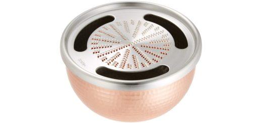 新光金属 銅器 銅製手打ちおろし器 5寸