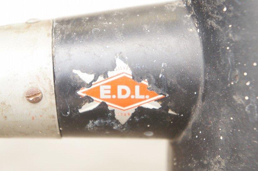 EDL インダストリアルデスクランプ Silver Star