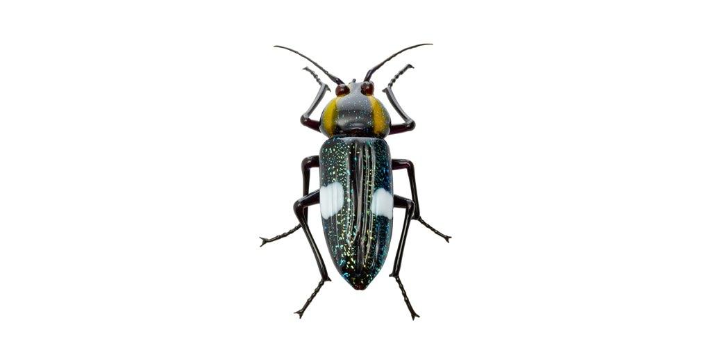 ビットリオ・コスタンティーニ フィギュリン 甲虫 ( Vittorio Costantini Figurine Beetle )