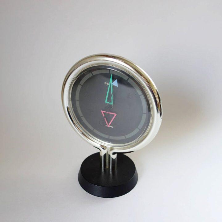 セイコー SEIKO ポストモダンデザイン 置時計