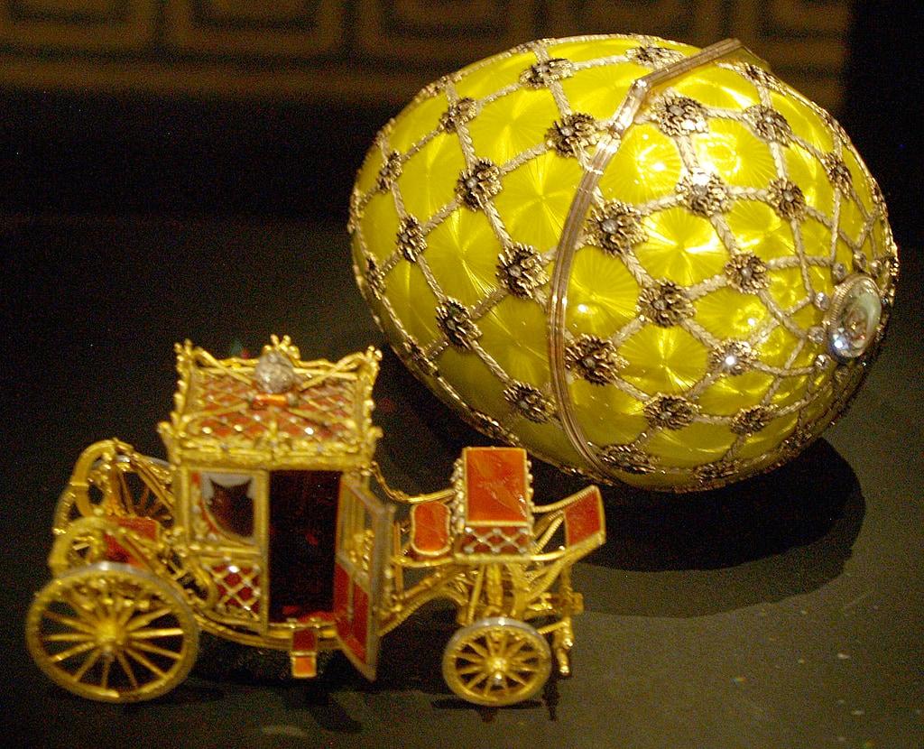 ファベルジェの卵 戴冠式 1897 ( Fabergé Imperial Eggs Coronation Egg 1897 )